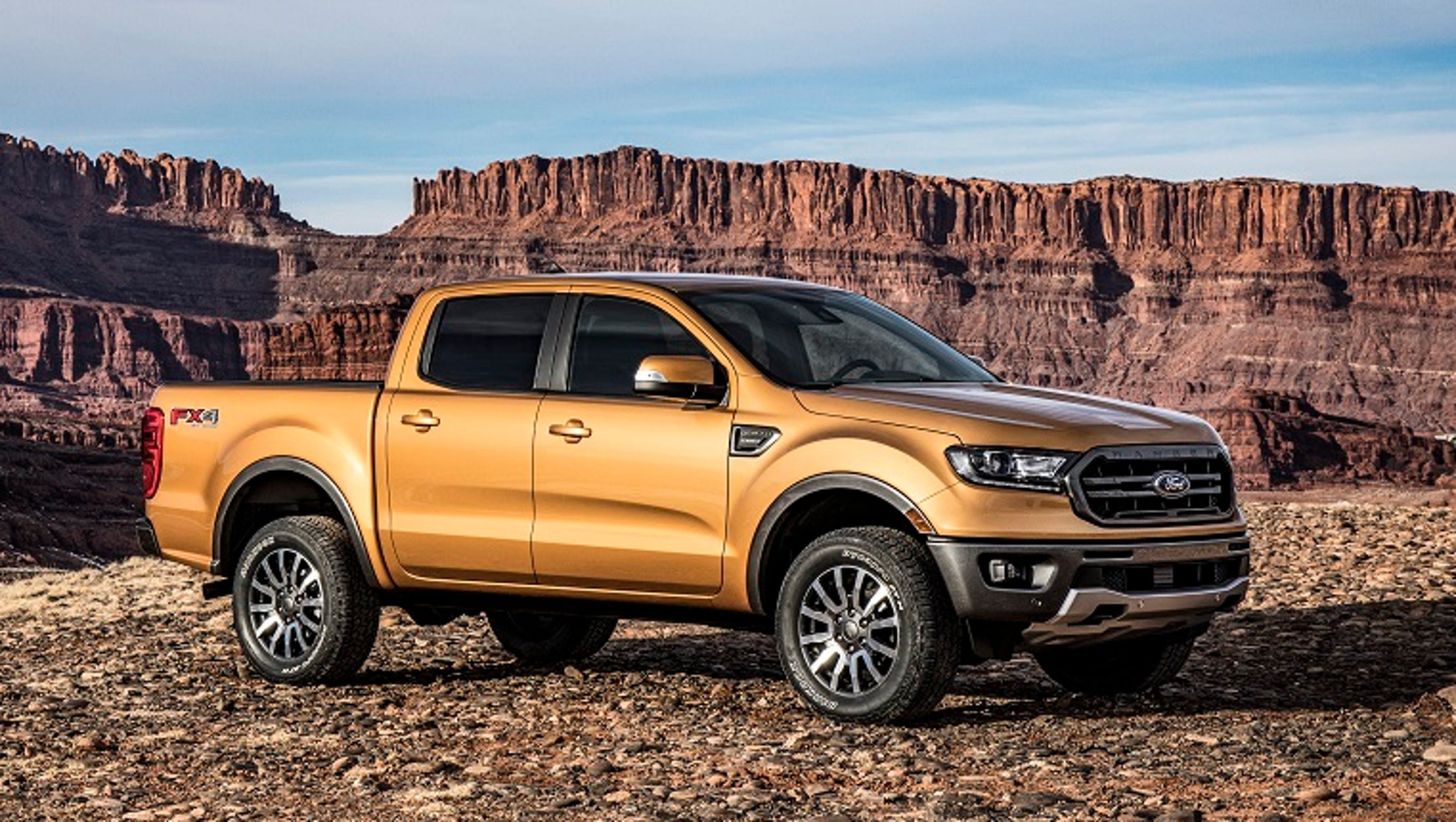Ford Shows New Ranger Midsize Pickup Ahead Of Detroit Auto