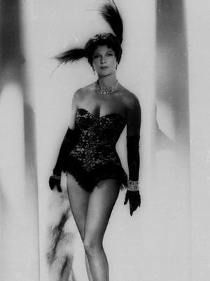 Ann Corio is shown in this Feb. 14, 1962 photo. Corio, the queen of burlesque who kept the tradition alive into the age of X-rated movies.  One of the last to practice the art of striptease as a put-on, Ms. Corio said her shows emphasized comedy and didn't contain full nudity. (AP Photo)
