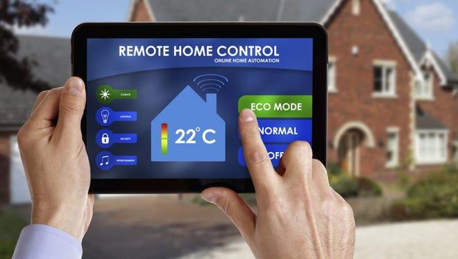 A remote home control device. Brian A. Jackson,