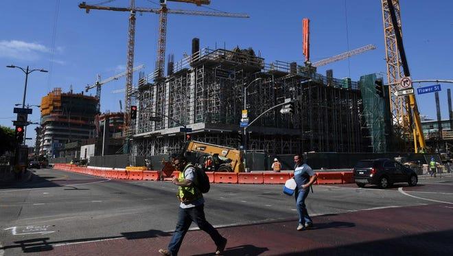 Development in Los Angeles.