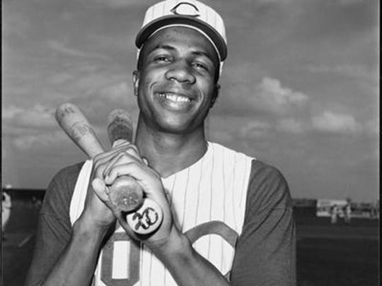 Frank Robinson played in Cincinnati from 1956 to 1965.