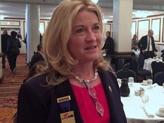 U.S. Senate candidate Wendy Long says congressional pay should be equal to median household income.