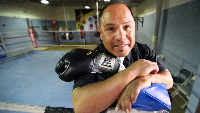 Former professional boxer Fernie Morales, 51, fought his last fight 25 years ago on Sept. 21, 1991, in Indio, Calif.