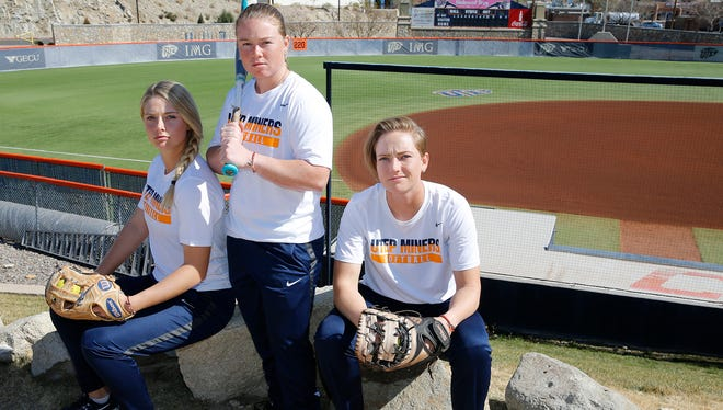 The University of Texas at El Paso softball team prepares to open its 2018 season with three seniors on its roster. They are Courtney Clayton, an infielder from Glencoe, Oregon, Kaitlin Ryder, a utility player from Chatsworth, Calif. and Taylor Sargent, a utility player from Albuquerque, N.M. Their season will begin Friday morning in the opening game of the Kajikawa Classic in Tempe, Arizona against (RV) Missouri. The Miners will play a total of five games in the tournament closing out Sunday afternoon against San Jose State at 2 p.m. before returning home.