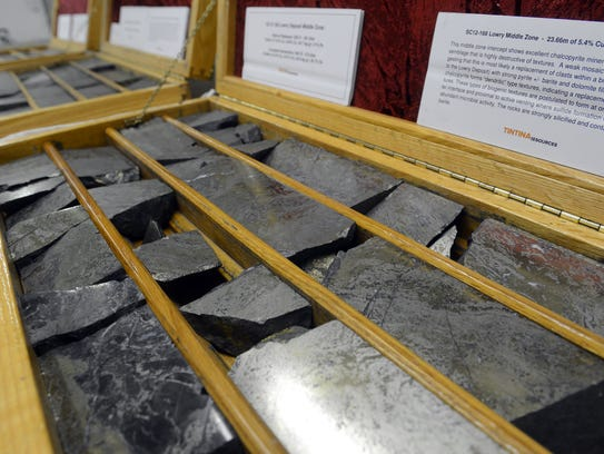 These core samples were taken from the Black Butte