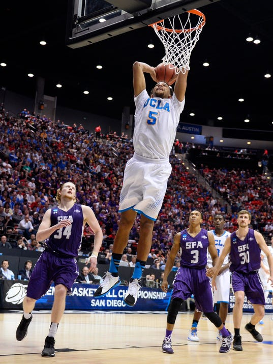 UCLA cruises past Stephen F. Austin into Sweet 16