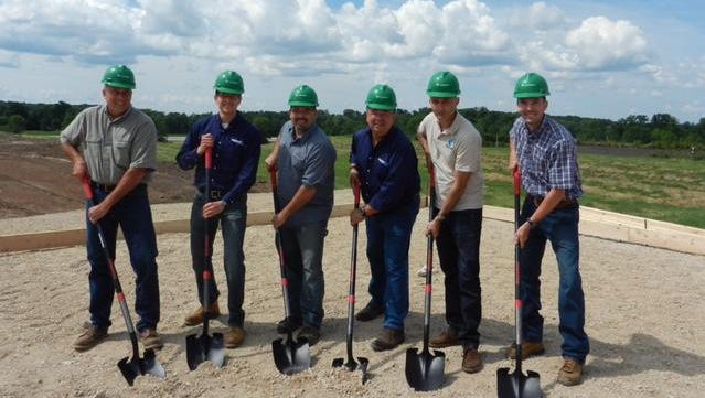 A ground-breaking ceremony was recently held at the Majestic Meadows Dairy in Sheboygan Falls, where Digested Organics LLC has begun construction on its first fully Integrated Manure Management System.