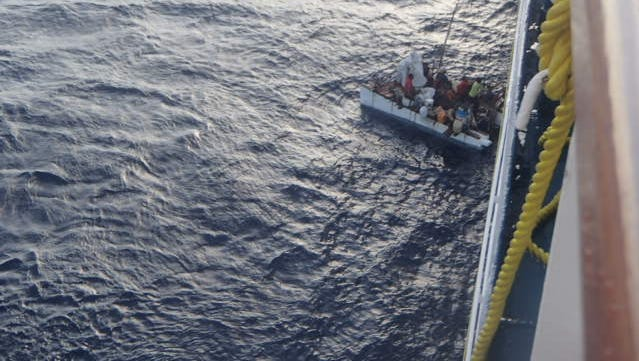 The Carnival Paradise on Sunday rescued eight Cubans stranded at sea aboard a raft. Dr. Alan Cherkasky of Kaukauna was involved in the rescue.