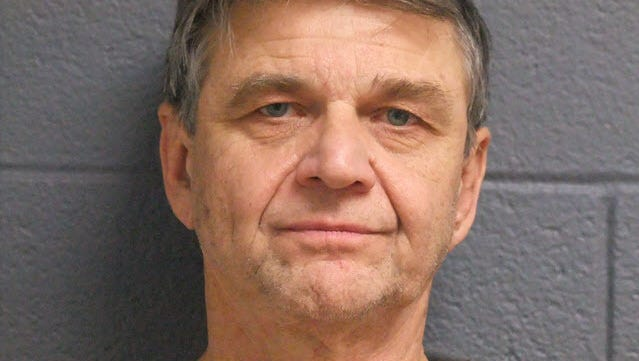 Erv Brinker in his mugshot taken Jan. 15. The former Summit Pointe CEO was sentenced to at least 32 months in prison after pleading guilty to Medicaid fraud and embezzlement.