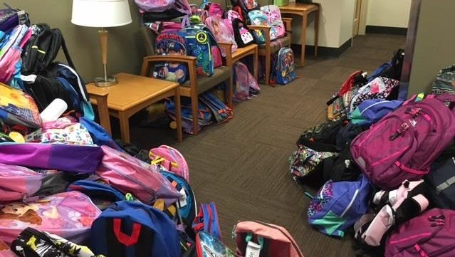 Salem Health donated 370 backpacks to nine elementary schools in Marion and Polk Counties.