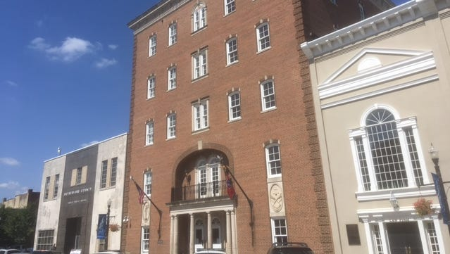 The five-story Judicial Building on the north side of the Murfreesboro Square will be renovated to house the Election Commission, Human Resources, Risk Management and most of the Office of Information Technology, Rutherford County Mayor Ernest Burgess says.