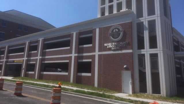 Rutherford County's opened a 360-space parking garage at Maple and Lytle streets.