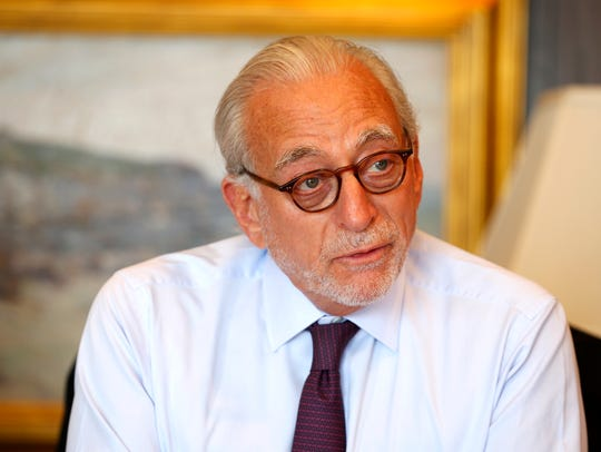 Nelson Peltz, CEO, Trian Fund Management. Photo shot