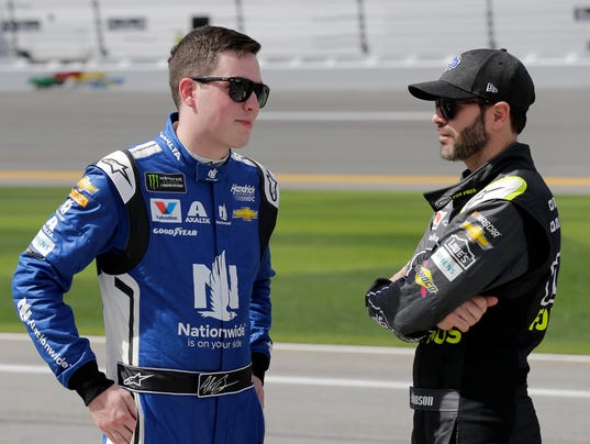 Alex Bowman,Jimmie Johnson