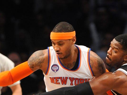 Knicks Nets Basketball (3)