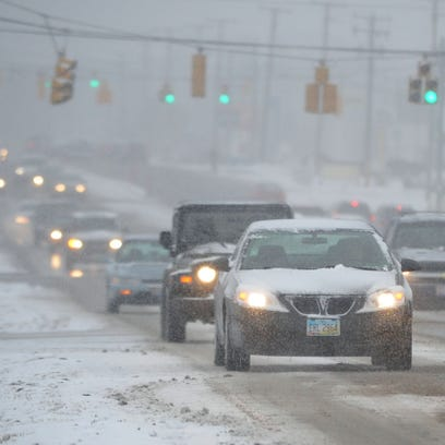 A blast of wintry weather is expected to leave its