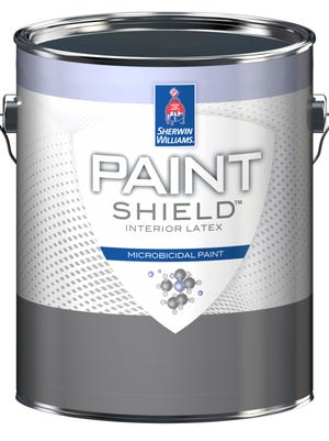 Sherwin-Williams has developed a product called Paint Shield, which kills infection-causing bacteria after two hours.