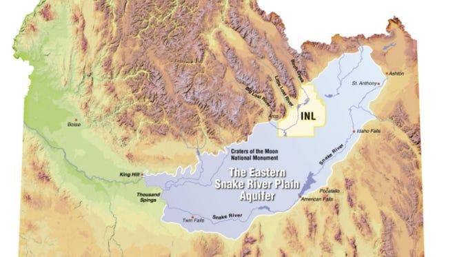 Eastern Snake River Plain Aquifer