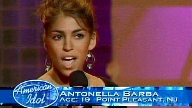 "Antonella Barba of Point . Pleasant on ""American Idol."""