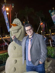 Josh Gad, who voices Olaf, made a surprise appearance