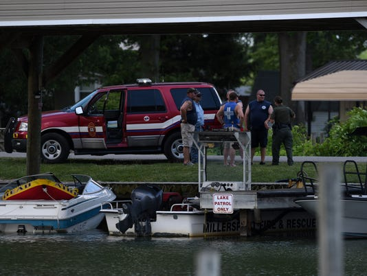 LAN Buckeye Lake Injury