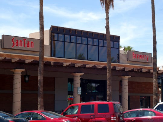 SanTan Brewing Company, located at the southwest corner