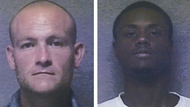 Bradford and Foster were arrested for battery. One against his girlfriend and the other against his daughter.
