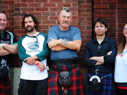 Father Son and Friends, who plays Scottish, Irish and Appalachian roots music, stops by Nine Irish Brothers Friday.