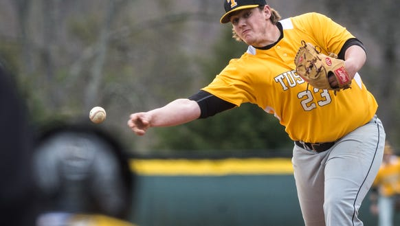 Tuscola high school hosted North Henderson for their baseball game Friday, March 9, 2018. North Henderson defeated Tuscola 5-2 in 11 innings.