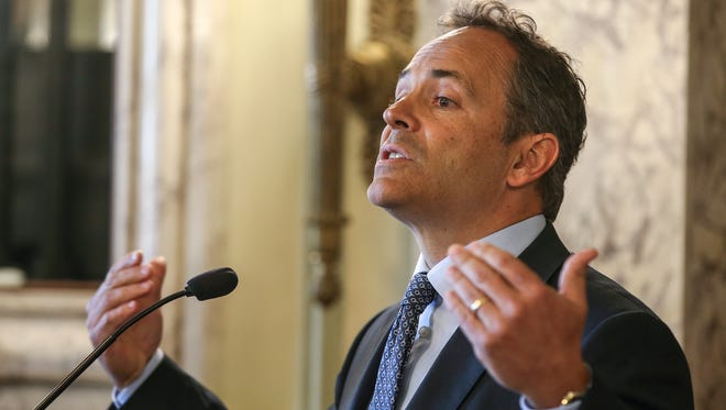 Gov. Matt Bevin was one of 31 governors who signed a letter asking for Congress to rapidly appoint President Donald Trump's Supreme Court nominee.