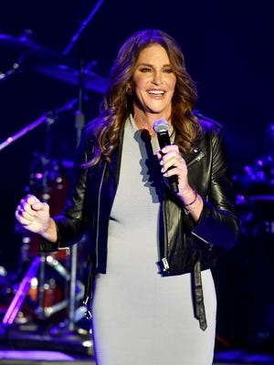 Caitlyn Jenner attends Culture Club's performance at The Greek Theatre on July 24.