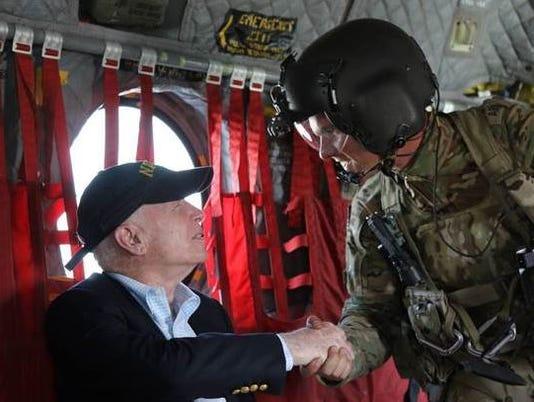 Senator John McCain in Afghanistan