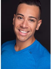 "Felix Marchany is the dance captain of the ""Rent"" production"