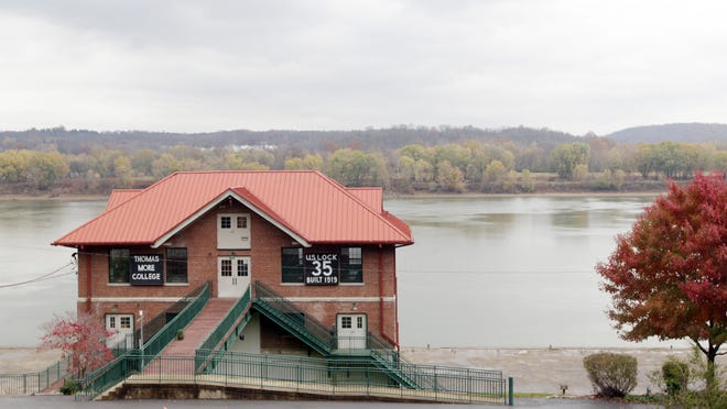 Thomas More College's Field Biology Field Station stands on the Ohio River in California, across from New Richmond.