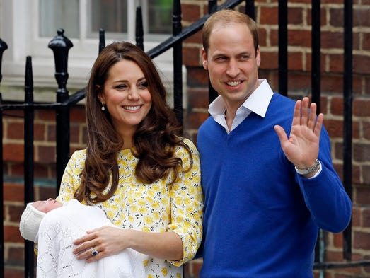 Britain's Prince William and Kate, Duchess of Cambridge