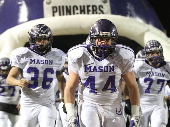The Mason Punchers are a Class 2A football team with