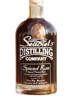 Seacrets Distilling Company's new bottle design for their spiced rum won a best in show award from the National Association of Container Distributors.