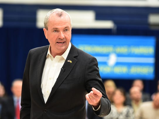 Gov. Phil Murphy holds a town hall at Paramus High
