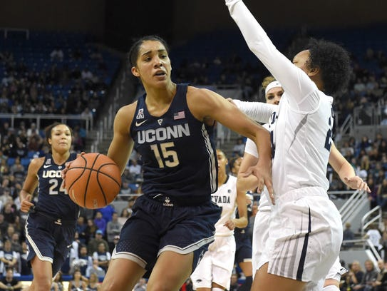 Gabby Williams scored 17 points, grabbed six rebounds