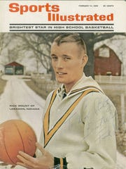 Feb 14, 1966 issue of Sports Illustrated, Rick Mount