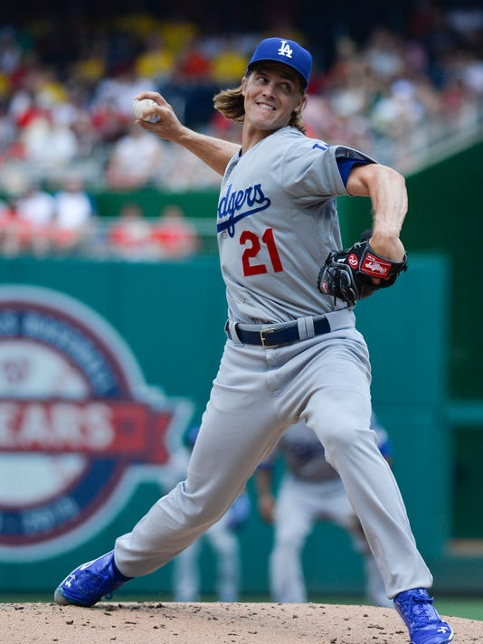 USP MLB: LOS ANGELES DODGERS AT WASHINGTON NATIONA S BBA USA DC