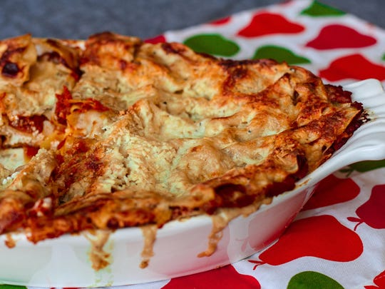 You can assemble pumpkin lasagna up to three days ahead, then store in the refrigerator and bake when ready.