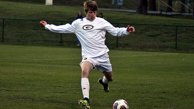 Gallatin's Will Stephens scored three goals in the Green Wave's 5-4 victory at Hendersonville on Thursday.