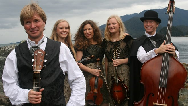 Alaska String Band brings the Best of Americana to Chestnut Center at 7:30 p.m. on Friday.