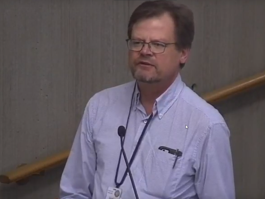 Dave Emme, drinking water manager for Oregon Health