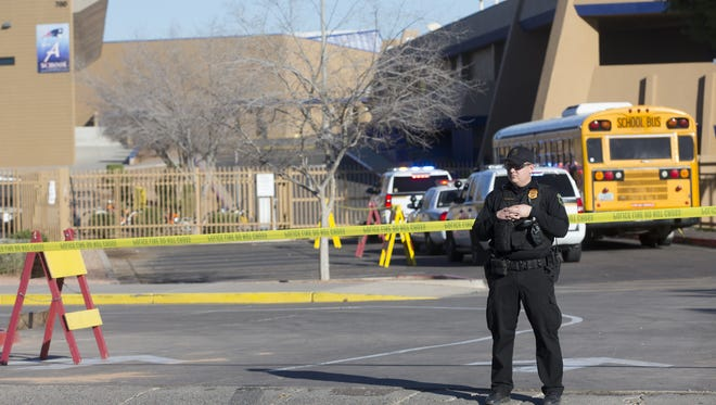 Independence High School is on lock down after a shooting on campus occurred on Thursday, February 12, 2016. About 2,000 students attend the school in the West Valley.