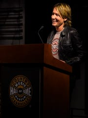 Keith Urban talks about the new exhibit featuring memorabilia