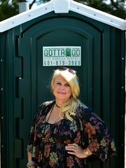 McGraw said the hardest part of her porta-john business