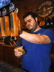 Randall Marquis, owner of Blue Collar Brewery in the