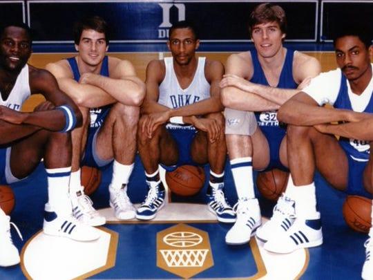 From left to right: David Henderson, Jay Bilas, Johnny
